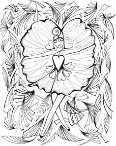 Creative Haven Fanciful Faces Adults 3 coloring pages printable and coloring book to print for free. Find more coloring pages online for kids and adults of Creative Haven Fanciful Faces Adults 3 coloring pages to print. Dover Coloring Pages, Free Adult Coloring Pages, Colouring Pics, Coloring Pages To Print, Printable Coloring Pages, Coloring Pages For Kids, Free Coloring, Fairy Coloring, Mermaid Coloring