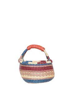 Little Market Basket - Pomegranate