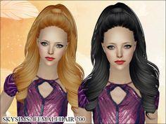 Sims 2 Female Hair