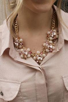 Best Regards Necklace- Pink