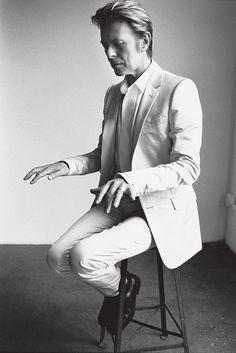 David Bowie by Mario Testino