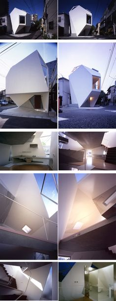 Réflection de minéral par l'atelier Tekuto Journal Du Design, Design Architect, Small Places, Japanese Design, Modern Houses, Architecture, Lighting, Building, Ideas