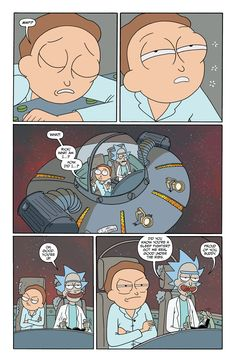 Rick and Morty Issue - Read Rick and Morty Issue comic online in high quality Ricky Y Morty, Rick And Morty Comic, Wubba Lubba, Justin Roiland, Fraggle Rock, Get Schwifty, Fandoms, Adult Cartoons, Tumblr Funny
