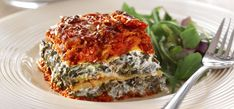Philadelphia Spinach and Philly Lasagne