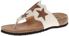 New Think Women's Julia Star Thong Sandals ** Want to know more, click on the image.