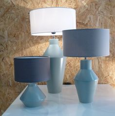 Ceramic by Arfai.  Complete lamps by Corep Iberica