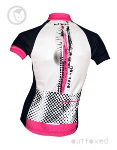 d24fbfeb1  Dare you - Outfoxed womens jersey Ladies cycling clothing with a  difference.