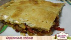 Empanada de verduras, cena templada y saludable para el Otoño