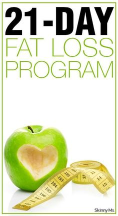 With this 21-Day Fat Loss Program, weve provided meal plans and workout challenges, along with nutritional and lifestyle tips, to make each day a fat burning success. #fatlossprogram #21daychallenge