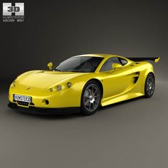 Ascari A10 2006 3d model from humster3d.com. Price: $75
