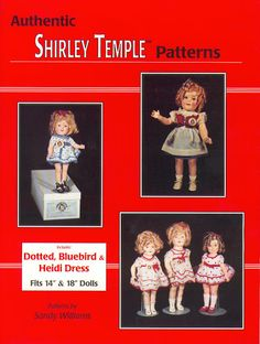 Free Doll Clothes Patterns Authentic Shirley Temple Clothes Patterns - Elesy Lena - Picasa Web Albums