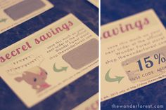 How to make your own scratch off cards! DIY!