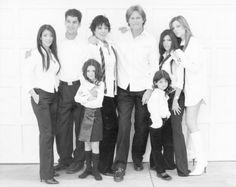Kourtney Kardashian Family Christmas Card Old School Photo