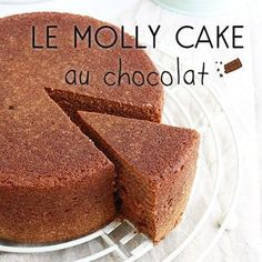 The essential chocolate Molly Cake recipe - Féerie Cake - - Cake Mix Cookie Recipes, Cheesecake Recipes, Vanilla Recipes, Sweet Recipes, Topping Cake, Molly Cake Chocolat, Gentilly Cake Recipe, Chiffon Cake, Holiday Cakes