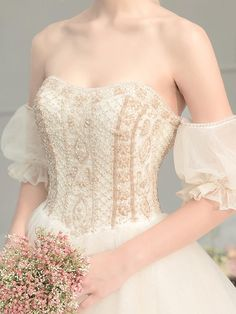 May 2020 - Customized wedding dress factory export trade for ten years, welcome to order wedding dress in batches with their own factory Ethereal Wedding Dress, Wedding Evening Gown, Sweetheart Wedding Dress, Black Wedding Dresses, Wedding Gowns, Evening Gowns, Fairytale Wedding Dresses, Vintage Fairytale Wedding, Disney Inspired Wedding Dresses