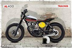 hondaxl400#street tracker#scrambler special#old school garage modifica motociclette speciali