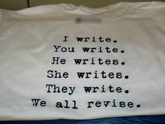 We all love to write!  http://carolynhughesthehurthealer.wordpress.com/