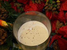 Low Carb Eggnog with Heavy Cream and Almond Milk