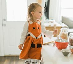 Fox Apron tutorial from Simple As That