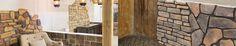 Showroom met alle #wandbekleding Muren. Voor Binnen en Buiten. Gevel #Wandbekleding #rusticostones