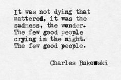 25 lessons from Charles Bukowski | Art-Sheep | Art-Sheep                                                                                                                                                                                 More
