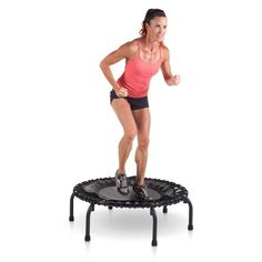 JumpSport 220 Fitness Trampoline In-Home Mini Rebounder Fitness Trampoline, Best Trampoline, Backyard Trampoline, Trampoline Workout, Trampoline Reviews, Best Cardio Workout, At Home Gym, Rebounding, No Equipment Workout