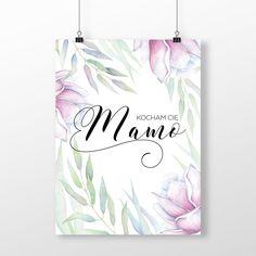 Plakat: Kocham Cię Mamo