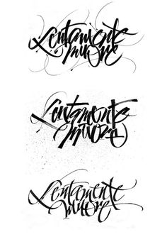 gorgeous lettering by Luca Barcellona. #lettering #calligraphy #typography