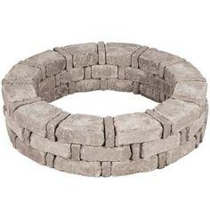 RumbleStone 46 in. x 10.5 in. Tree Ring Kit in Greystone