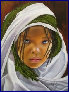 60 ideas african children paintings black art for 2019 My Black Is Beautiful, Beautiful Eyes, Pretty Black, Pretty Art, Beautiful Artwork, Hyper Realistic Paintings, Foto Poster, African Children, African Girl