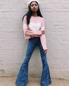 Berkeley Bells Regular ~ Black Lava – Show Me Your Mumu Wide Leg Trousers, Wide Leg Jeans, High Waist Jeans, Bell Bottom Pants, Bell Bottoms, How Many Bridesmaids, Girls Together, Spring Outfits, Spring Clothes