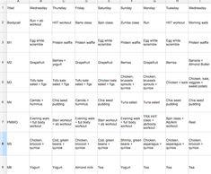 toneitup nutrition plan pdf free