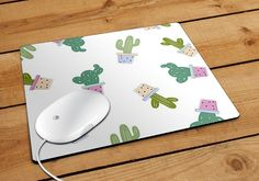 Cactus Pattern Mousepad | Aneend