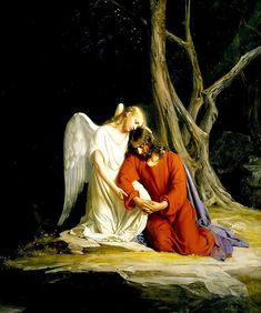 Gethsemane Carl Bloch - ゲツセマネの祈り - Wikipedia