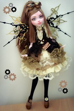 Monster High custom OOAK Customized doll Steampunk