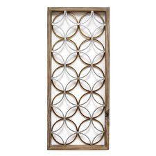 Rings Panel Wall Decor