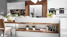 Jak urządzić funkcjonalną kuchnię z wyspą otwartą na salon? - Homebook.pl