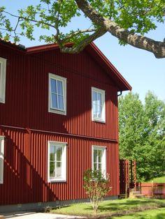 Klassinen Älmhult-talo Ruotsissa / Älmhult model in Sweden  Photo: BoKlok/Skanska