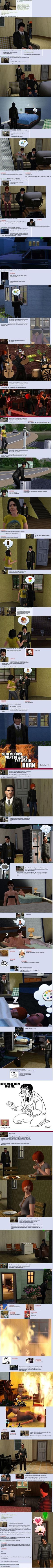 Goldie: A Sims love story  // funny pictures - funny photos - funny images - funny pics - funny quotes - #lol #humor #funnypictures