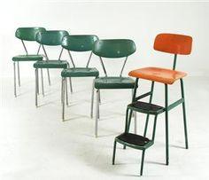 Chairs by Ero Stål & Stil