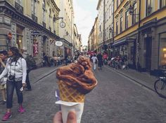 Stop by: Cafe Jäarntoget in Gamla Stan for some wacky and sweet ice cream with insane flavour combinations!