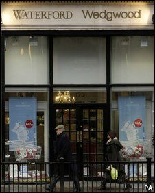 A Waterford Wedgwood store in Central London