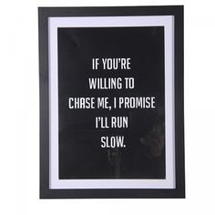 Run Slow Sign
