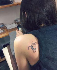 Na Coréia do Sul, tatuagens de gatos são a maneira mais adorável de quebrar a lei