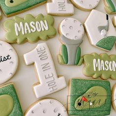 Golf Theme, Themed Cupcakes, Custom Cookies, Golf Carts, Cake Cookies, Cookie Decorating, Cold, Desserts, Instagram