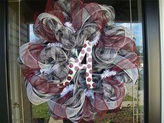 Alabama team wreath