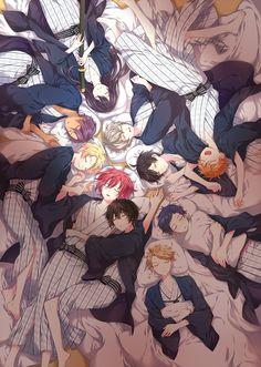 Cute Anime Boy, I Love Anime, Anime Guys, Otaku Anime, Anime Art, Kamigami No Asobi, Anime Friendship, Pokemon, Boy Drawing