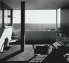 Marcel Breuer - Starkey House - patio - 1955