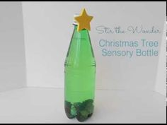 Christmas Tree Sensory Calm Down Discovery Bottle