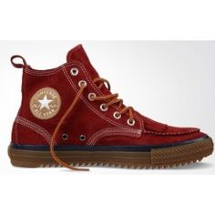 Scarpe Converse Chuck Taylor Classic Boot Red Cheap Converse Shoes, Converse Sneakers, Converse All Star, High Top Sneakers, Vans, Cheap Van, Chuck Taylor Sneakers, Chuck Taylors, Christian Louboutin